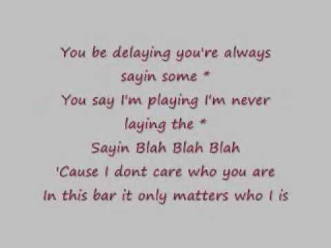 Blah Blah Blah  Kesha Lyrics Clean
