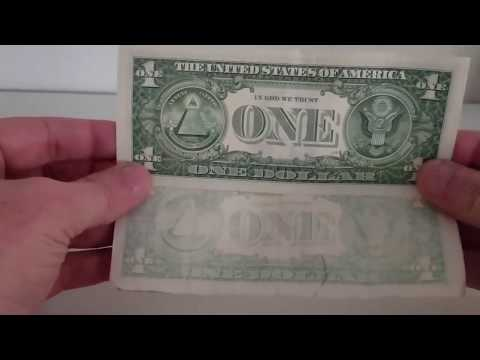 Science Experiment Taking The Ink Off Money