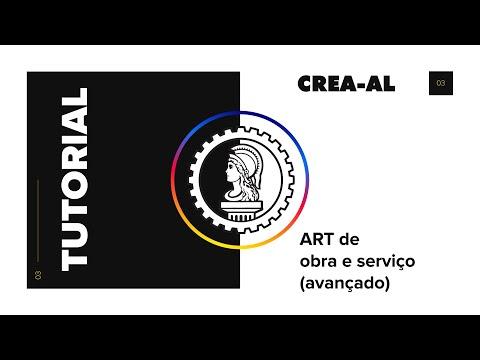 ART de Obra e Serviço (Parte 2: Avançado) - Crea
