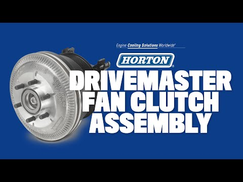 Norman G Clark Horton DriveMaster Fan Clutch Assembly - YouTube