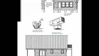 24' X 32' Cabin Plan