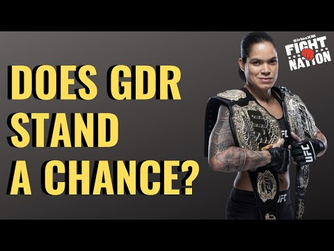 Amanda Nunes Vs. Germaine De Randamie UFC 245 Preview | Luke Thomas