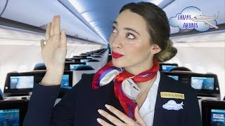 DREAMS Airlines TI DA IL BENVENUTO A BORDO! Flight Attendant + Check In Roleplay ASMR