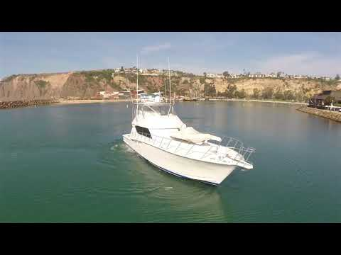 """Hatteras 60' Convertible Sportfisher """"DETERMINED"""" For Sale by Kusler Yachts"""