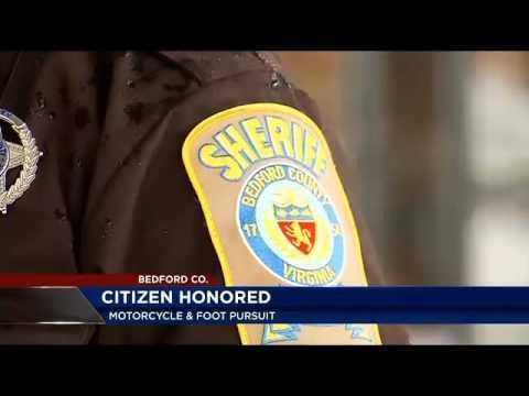 Citizens help Bedford County, VA deputy make arrest - WSLS