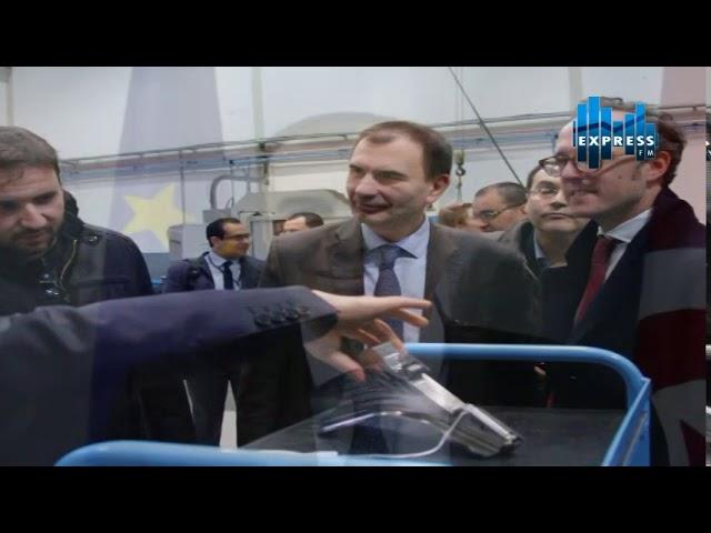 la BERD en visite Figeac Aero Tunisie