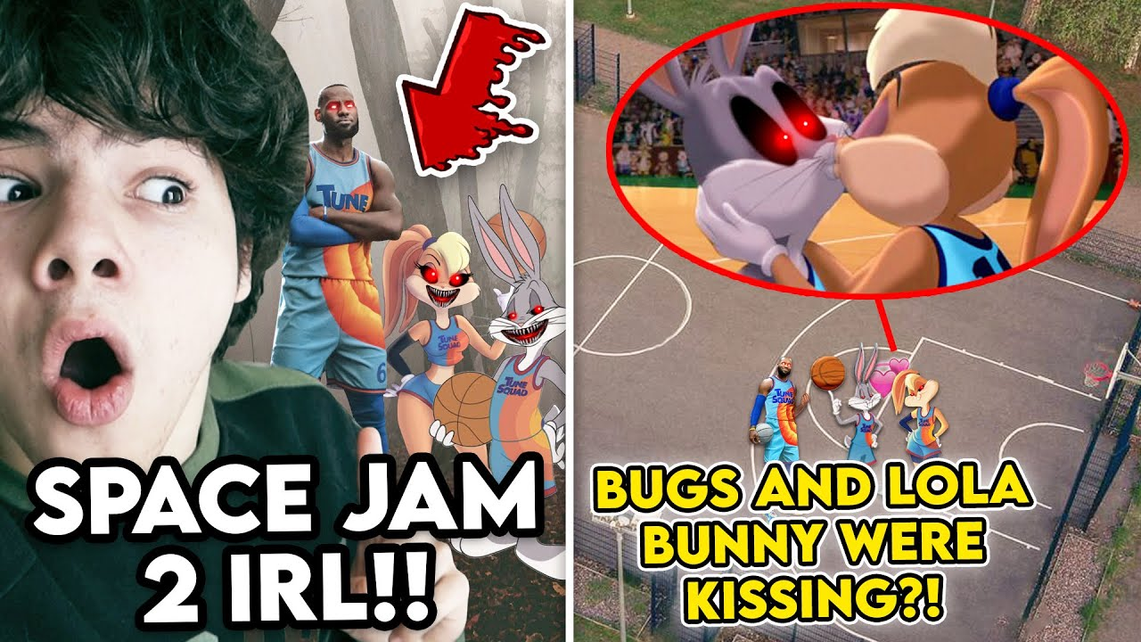 Download DRONE CATCHES BUGS BUNNY.EXE AND LOLA BUNNY.EXE KISSING!! (SPACE JAM 2 IN REAL LIFE)