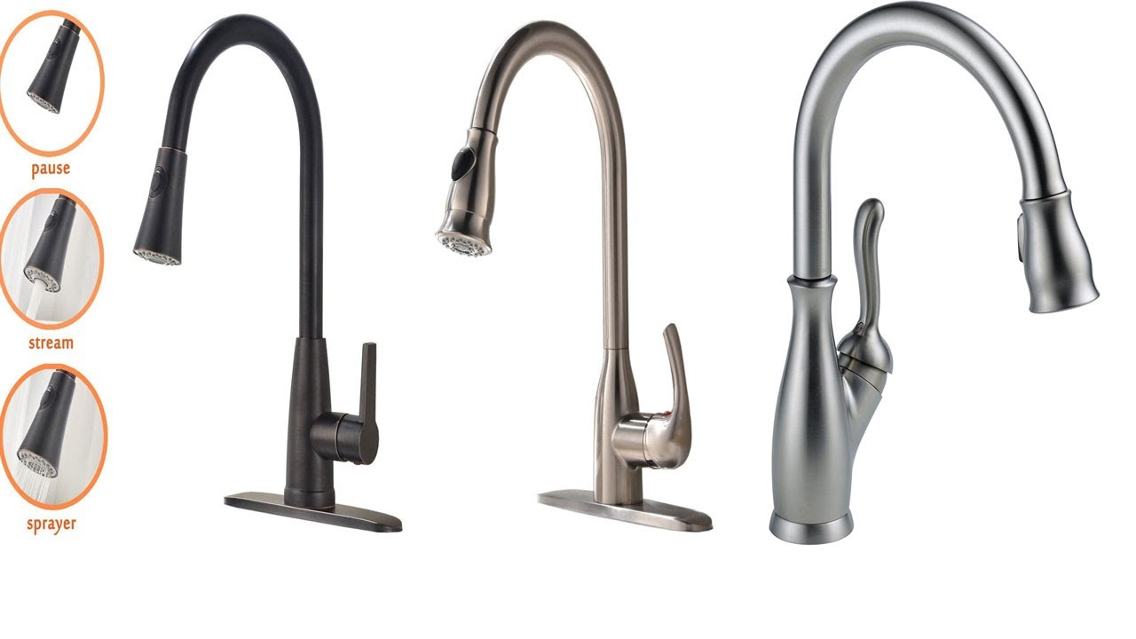 Best kitchen faucet for water pressure | kitchen faucet review - YouTube