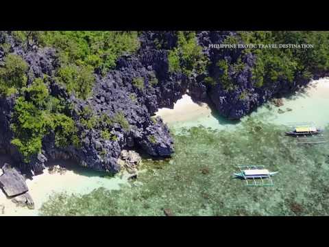 Aerial Matukad Island Caramoan Camarines Sur