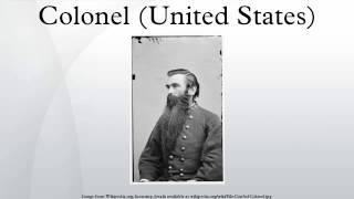 Colonel (United States)