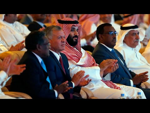 Saudi prince delivers remarks at 'Davos in the Desert'