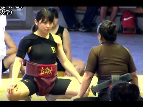 【女子相撲】野崎舞夏星さんインタビュー【全日本女子相撲選手権大会2016】Women Sumo Manaho Nozaki