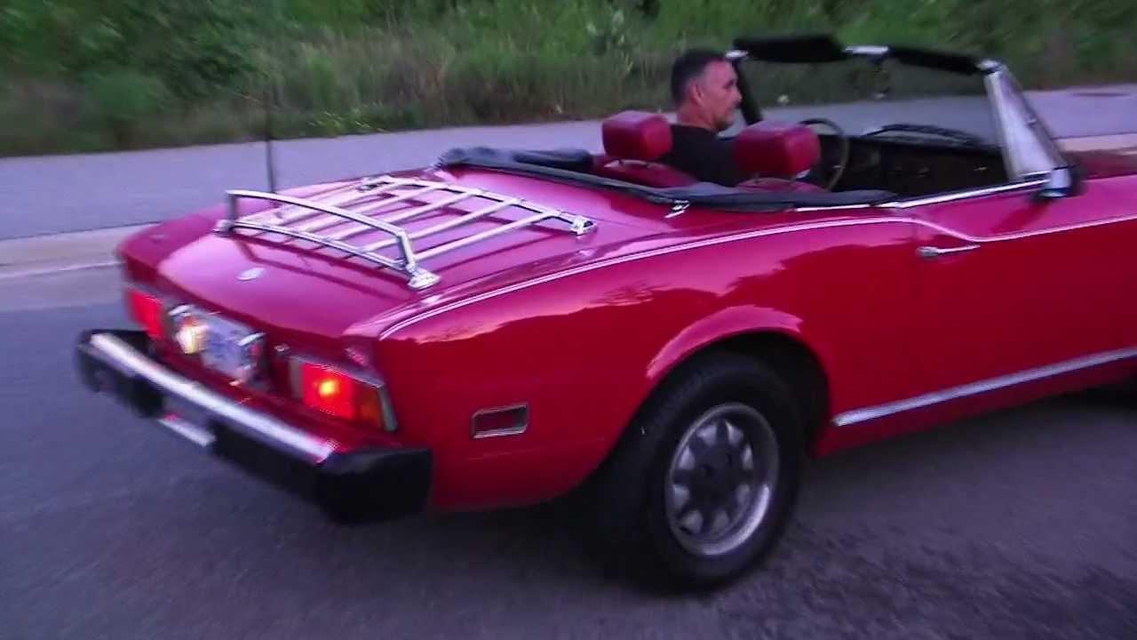 Fiat spider 1977