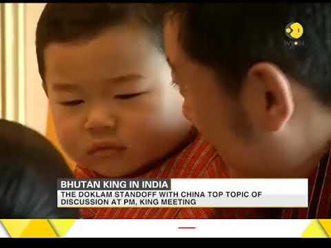 Bhutan King in India