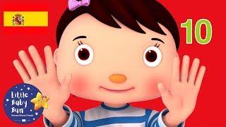 Canciones Infantiles | Diez Deditos | Dibujos Animados | Little Baby Bum en Español