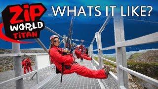 Zip World Wales Titan Zip Lines Go Pro Footage of the day