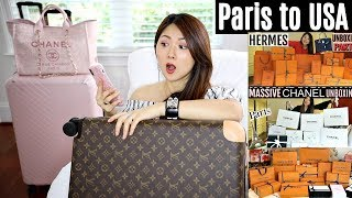 HOW I BROUGHT 💸💰LUXURY PURCHASES BACK+CUSTOMs TAX+PICKPOCKET   Q & A   CHARIS IN PARIS 💕
