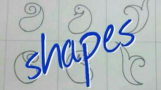 Basic steps of mehndi design class -2 for beginner tutorial