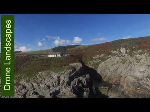Isle of Man by Drone - Groudle - Bay, Port, Railway and Zoo