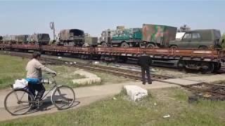 Военная Техника с ДОНЕЦКА на КИЕВ началось