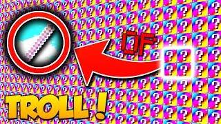 ULTIMATE TROLLING STICK! | Minecraft RAINBOW LUCKY BLOCK WALLS MOD (Modded Mini-Game CHALLENGE)