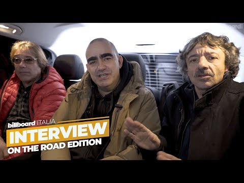 Elio e le Storie Tese - Billboard Interview On The Road Edition