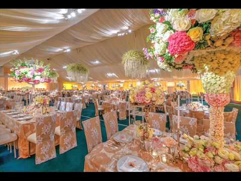 Sweet and warm of peach wedding decorations youtube sweet and warm of peach wedding decorations junglespirit Images