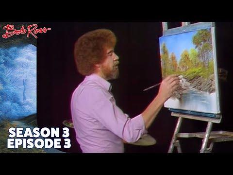 Bob Ross - Bubbling Stream (Season 3 Episode 3)