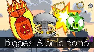 Bad Piggies - BIGGEST ATOMIC BOMB EVER (Field of Dreams) - Request