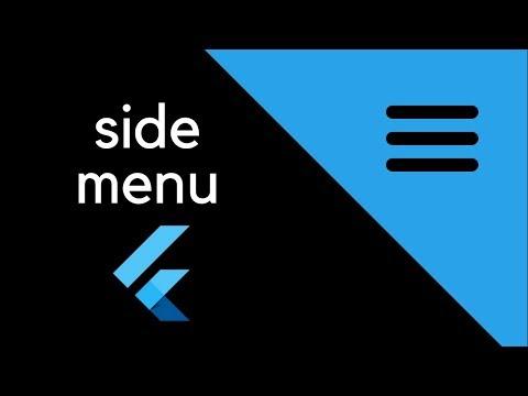 Flutter - Side menu