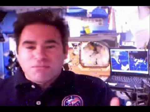 Ask Astronaut Greg Chamitoff: Light a Match!