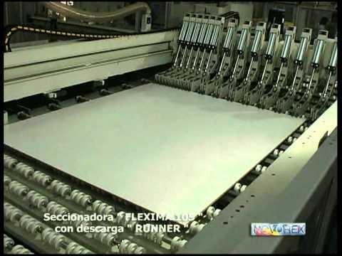 GABBIANI FLEXIMA (SCM Group) высокопроизводительный пильный центр