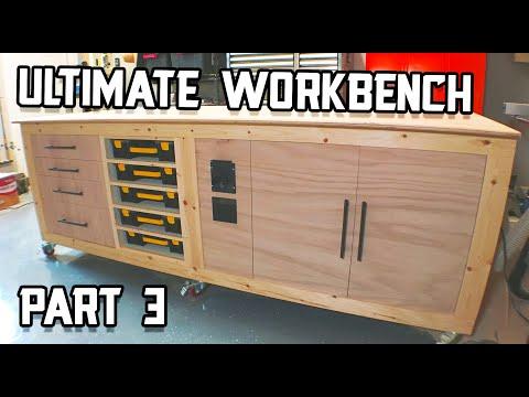 Ultimate Shop Table Build - Part 3
