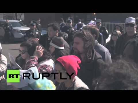 USA: Protesters rally over CPD Homan Square facility