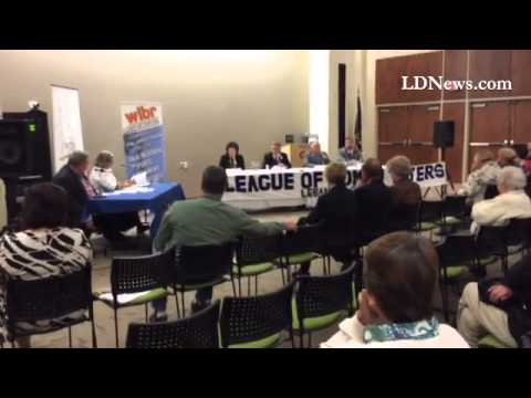 Candidates Wanda Bechtold & Russ Diamond's brief comments on Marcellus Shale at Women League of Vote