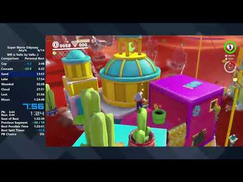 Super Mario Odyssey - Any% Speedrun in 1:23:28
