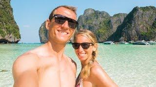 Maya Bay Koh Phi Phi • schnorcheln mit Haien • Thailand | VLOG #326