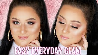 MY QUICK & EASY GO-TO MAKEUP LOOK!! - NO LINER!!