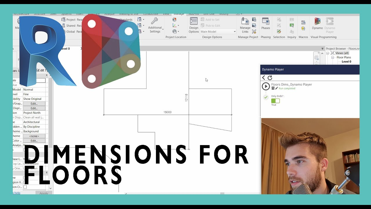 Automatic Dimensions for Floors