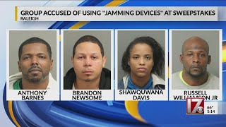 4 used 'jamming device' to get $2,600 from Raleigh sweepstakes parlor machine