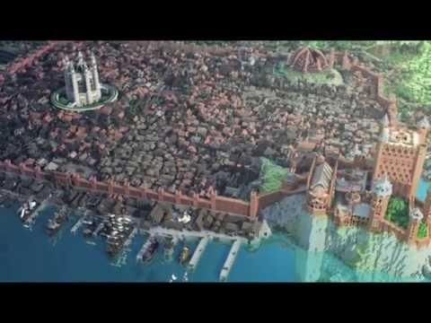Самые легендарные постройки в Minecraft за всю его историю