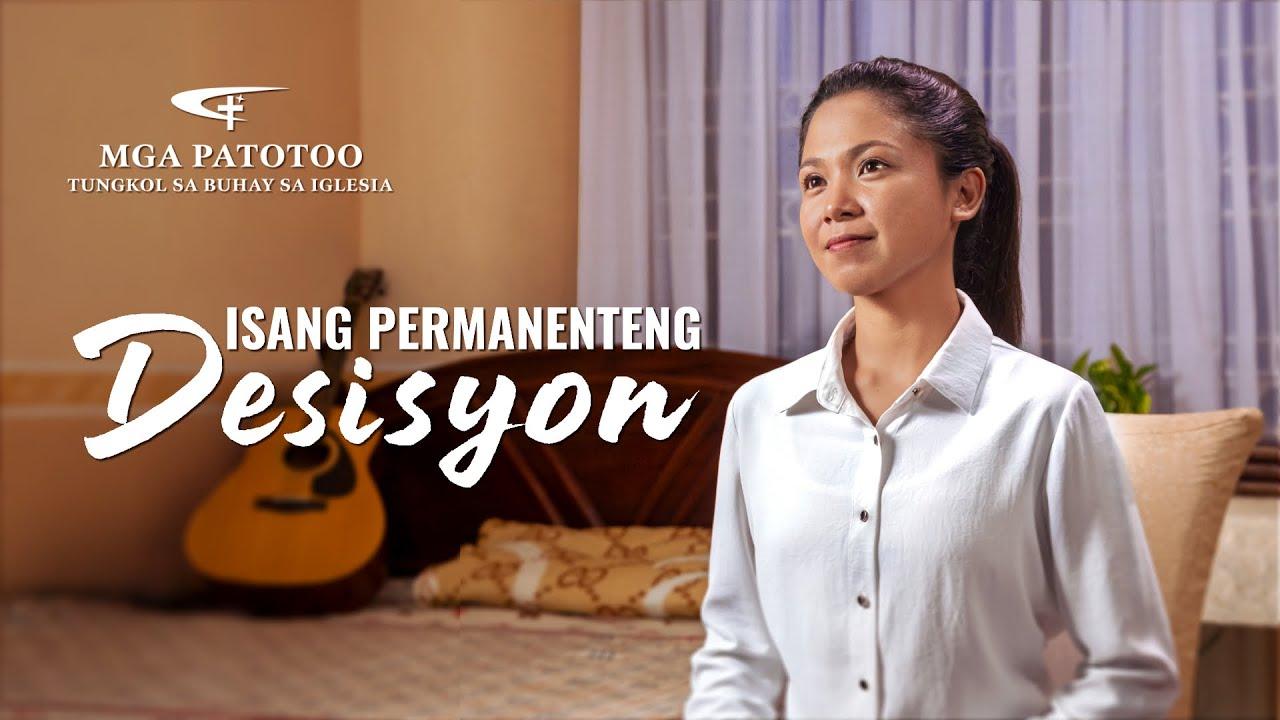 "Tagalog Testimony Video ""Isang Permanenteng Desisyon"""