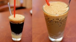 How to make Vietnamese coffee - Ca phe sua da