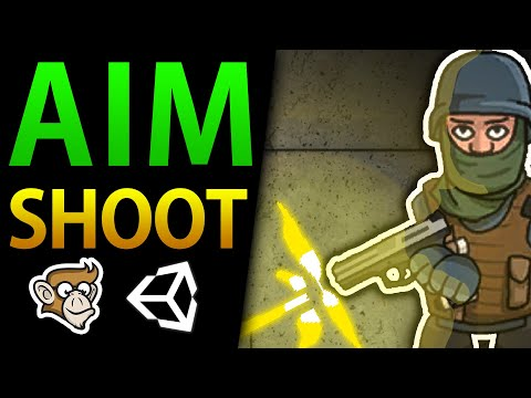 Aim at Mouse in Unity 2D (Shoot Weapon, Unity Tutorial for Beginners) thumbnail