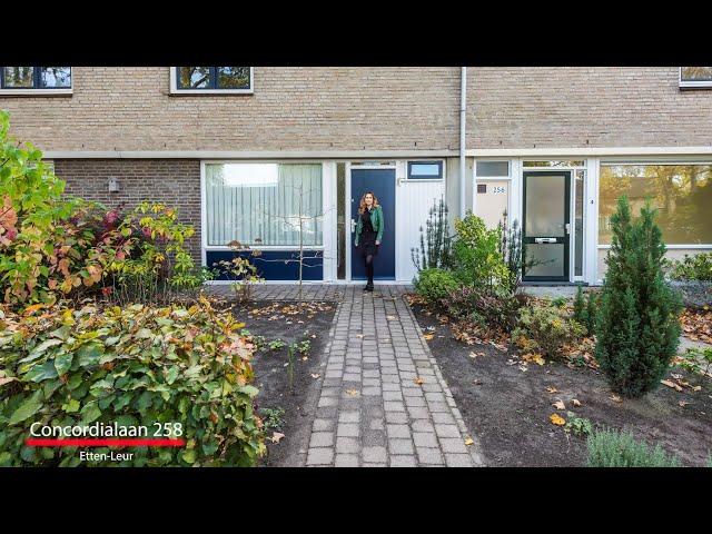 Nieuw in de verkoop: Concordialaan 258 te Etten-Leur