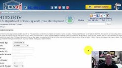 How to Search for FHA approved Condos and townhomes