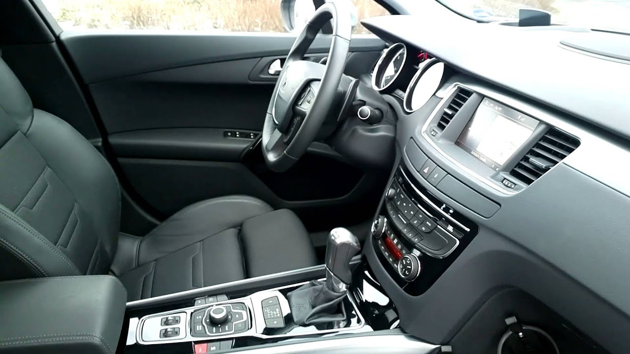 Peugeot 508 gt hdi fap limousine interieur youtube for Interieur 508