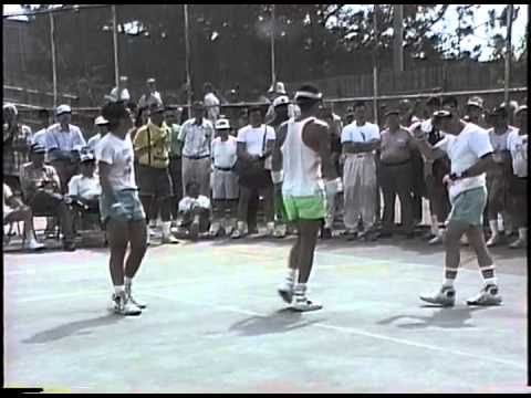 1991 1 Wall Natls   Torres Williams v Apuzzi Golden, Interviews with Morris Levitsky, Al Torres