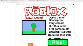 Roblox 2015 Made in Scratch!