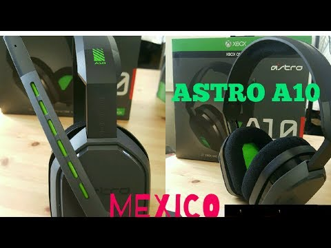unboxing&Analizis -ASTRO A10- (Mexico) Gaming Headsets PS4, XBOX ONE, SWITCH & MOVIL